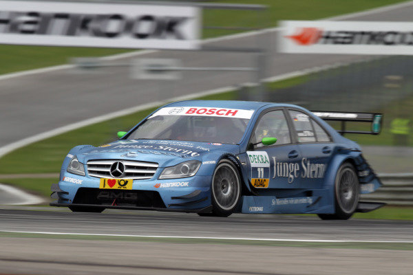 Renger van der Zande (NED), stern AMG Mercedes.