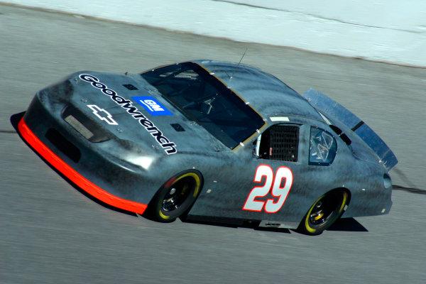 2003 NASCAR TestingDaytona, USA. 14th January 2003 Kevin Harvick (Chevrolet Richard Childress Racing), action.World Copyright: Greg Aleck/ LAT Photographic ref: Digital Image Only