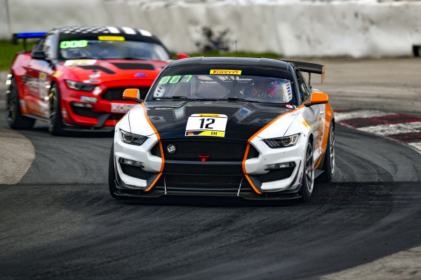 #12 Ford Mustang GT4 of Drew Staveley