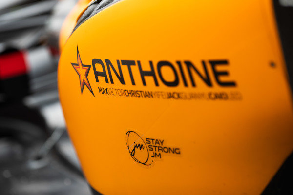 AUTODROMO NAZIONALE MONZA, ITALY - SEPTEMBER 06: Tribute to Anthoine Hubert during the Monza at Autodromo Nazionale Monza on September 06, 2019 in Autodromo Nazionale Monza, Italy. (Photo by Joe Portlock / LAT Images / FIA F2 Championship)