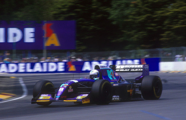 1994 Australian Grand Prix.Adelaide, Australia.11-13 November 1994.David Brabham (Simtek S941 Ford). He exited the race with an engine problem.Ref-94 AUS 23.World Copyright - LAT Photographic