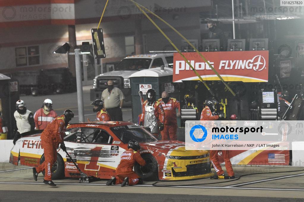 #1: Michael Annett, JR Motorsports, Chevrolet Camaro Pilot Flying J
