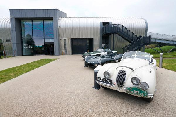 Jaguar Racing Official Formula E Launch Jaguar Heritage Collections Centre, Gaydon, UK Thursday 8 September 2016 . World Copyright: Andrew Ferraro/LAT Photographic ref: Digital Image _14P4322
