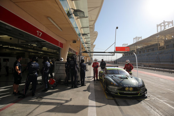 2016 FIA World Endurance Championship Rookie Test, Bahrain International Circuit, 20th November 2016, Euan Hankey / Salih Yoluc / Ahmad Al Harty / . Khaled AL QUBAISI  World Copyright. Jakob Ebrey/LAT Photographic