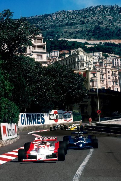 John Watson (GBR) McLaren M28 finished the race in fourth position.Monaco Grand Prix, Rd 7, Monte Carlo, Monaco, 27 May 1979.BEST IMAGE