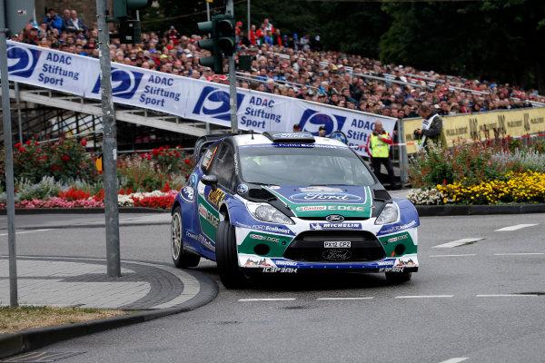 Round 09-Rallye Deutschland 23-26/8-2012.Jari/Matti Latvala, Ford WRC, Action.Worldwide Copyright: McKlein/LAT