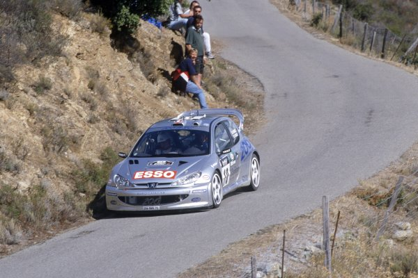 2000 World Rally Championship.