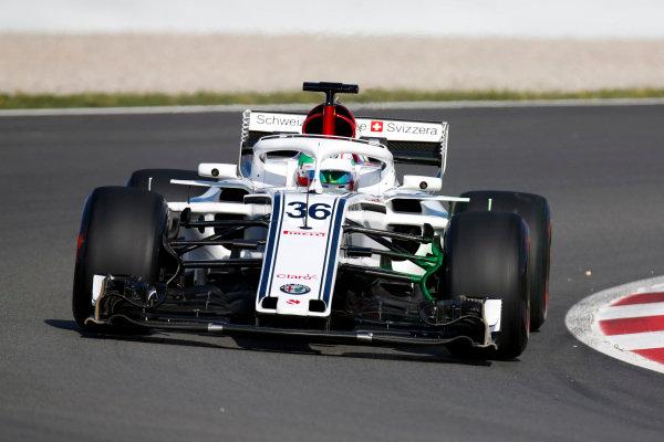 Antonio Giovinazzi, Sauber C37 Ferrari.