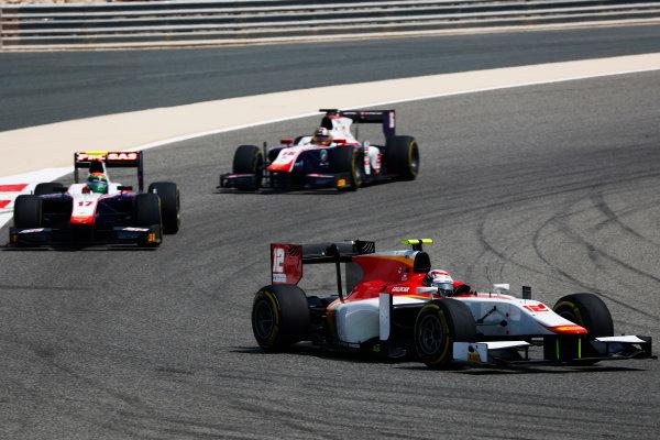 2017 FIA Formula 2 Round 1. Bahrain International Circuit, Sakhir, Bahrain.  Saturday 15 April 2017. Stefano Coletti (MON, Campos Racing)  Photo: Zak Mauger/FIA Formula 2. ref: Digital Image _W6I0333