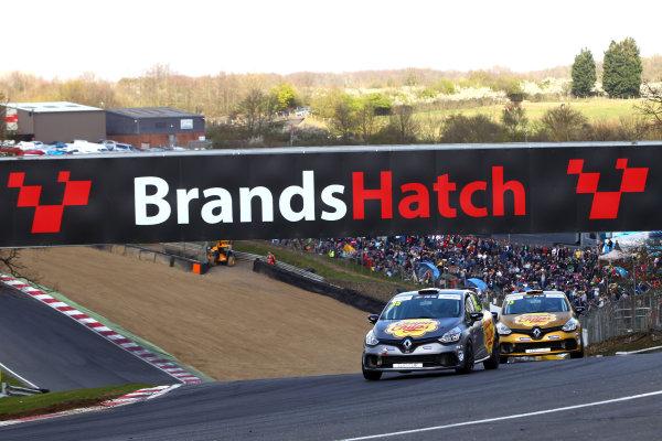 2017 Renault Clio Cup Brands Hatch, 1st-2nd April 2017 Oscar Rovelli (SUI) World Copyright. JEP/LAT Images
