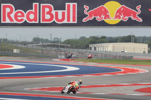 2017 Moto3 Championship - Round 3 Circuit of the Americas, Austin, Texas, USA Friday 21 April 2017  World Copyright: Gold and Goose Photography/LAT Images ref: Digital Image Moto3-500-1808