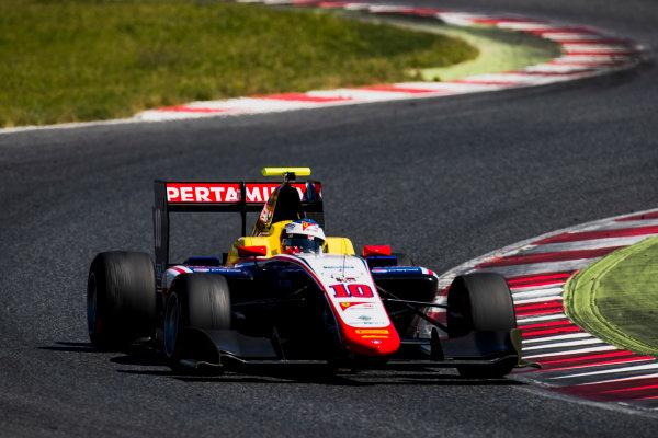 2016 GP3 Series Test 2. Circuit de Catalunya, Barcelona, Spain. Thursday 20 April 2017. Giuliano Alesi (FRA, Trident)  Photo: Zak Mauger/GP3 Series Media Service. ref: Digital Image _56I5432