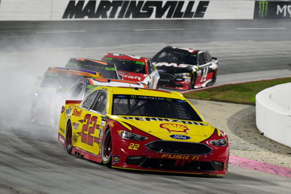 Monster Energy NASCAR Cup Series First Data 500 Martinsville Speedway, Martinsville VA USA Sunday 29 October 2017 Joey Logano, Team Penske, Shell-Pennzoil Ford Fusion World Copyright: Scott R LePage LAT Images ref: Digital Image lepage-171029-mart-9248