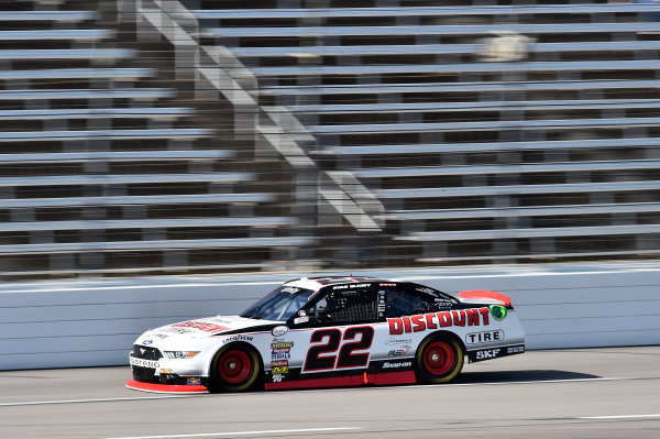 NASCAR XFINITY Series O?Reilly Auto Parts 300 Texas Motor Speedway Fort Worth, TX USA Friday 3 November 2017 Ryan Blaney, Discount Tire Ford Mustang World Copyright: John K Harrelson LAT Images