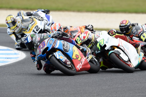 2017 Moto2 Championship - Round 16 Phillip Island, Australia. Sunday 22 October 2017 Alex Marquez, Marc VDS World Copyright: Gold and Goose / LAT Images ref: Digital Image 24900