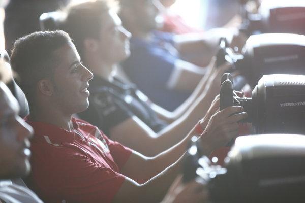 2017 FIA Formula 2 Round 7. Hungaroring, Budapest, Hungary. Saturday 29 July 2017. Antonio Fuoco (ITA, PREMA Racing).  Photo: Andy Hone/FIA Formula 2. ref: Digital Image _ONY0729