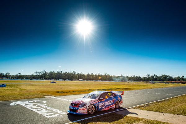 2017 Supercars Championship Round 8.  Ipswich SuperSprint, Queensland Raceway, Queensland, Australia. Friday 28th July to Sunday 30th July 2017. Todd Hazelwood, Matt Stone Racing.  World Copyright: Daniel Kalisz/ LAT Images Ref: Digital Image 280717_VASCR8_DKIMG_7870.jpg