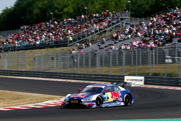 2017 DTM Round 3 Hungaroring, Budapest, Hungary. Sunday 18 June 2017. Mattias Ekström, Audi Sport Team Abt Sportsline, Audi A5 DTM World Copyright: Alexander Trienitz/LAT Images ref: Digital Image 2017-DTM-R3-HUN-AT2-1645