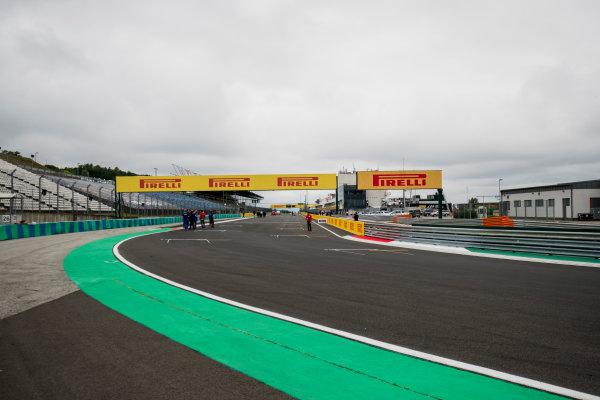 2017 FIA Formula 2 Round 7. Hungaroring, Budapest, Hungary. Thursday 27 July 2017. A view of the track. Photo: Zak Mauger/FIA Formula 2. ref: Digital Image _56I0031
