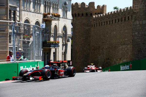 Baku City Circuit, Baku, Azerbaijan. Saturday 24 June 2017. Nyck De Vries (NED, Rapax)  World Copyright: /LAT Images ref: Digital Image _ONY9607