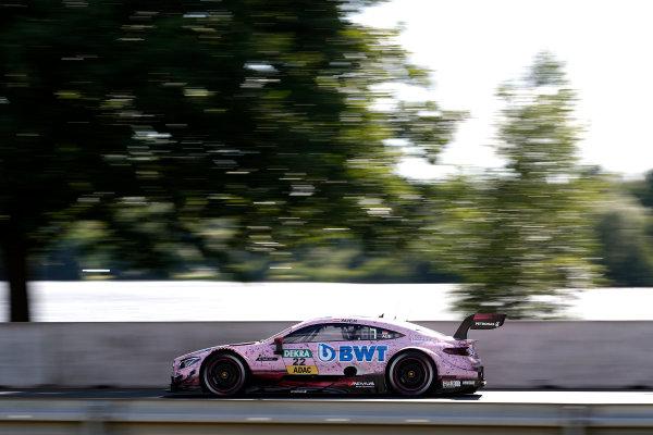 2017 DTM Round 4 Norisring, Nuremburg, Germany Friday 30 June 2017. Lucas Auer, Mercedes-AMG Team HWA, Mercedes-AMG C63 DTM World Copyright: Alexander Trienitz/LAT Images ref: Digital Image 2017-DTM-R4-NOR-AT2-0275