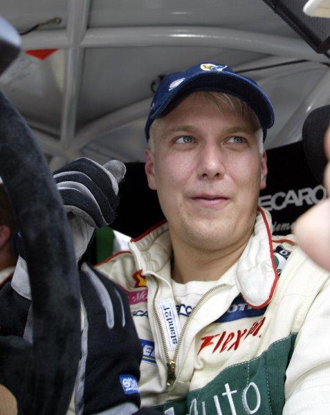 2003 FIA World Rally Champs. Round eight, Deutschland Rally24th-27th July 2003.Toni Gardemeister, Skoda, portrait. World Copyright: McKlein/LAT