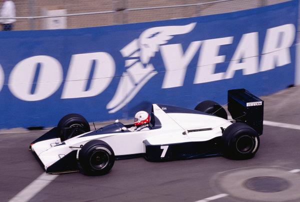 1990 United States Grand Prix.Phoenix, Arizona, USA.9-11 March 1990.Gregor Foitek (Brabham BT58 Judd).Ref-90 USA 46.World Copyright - LAT Photographic