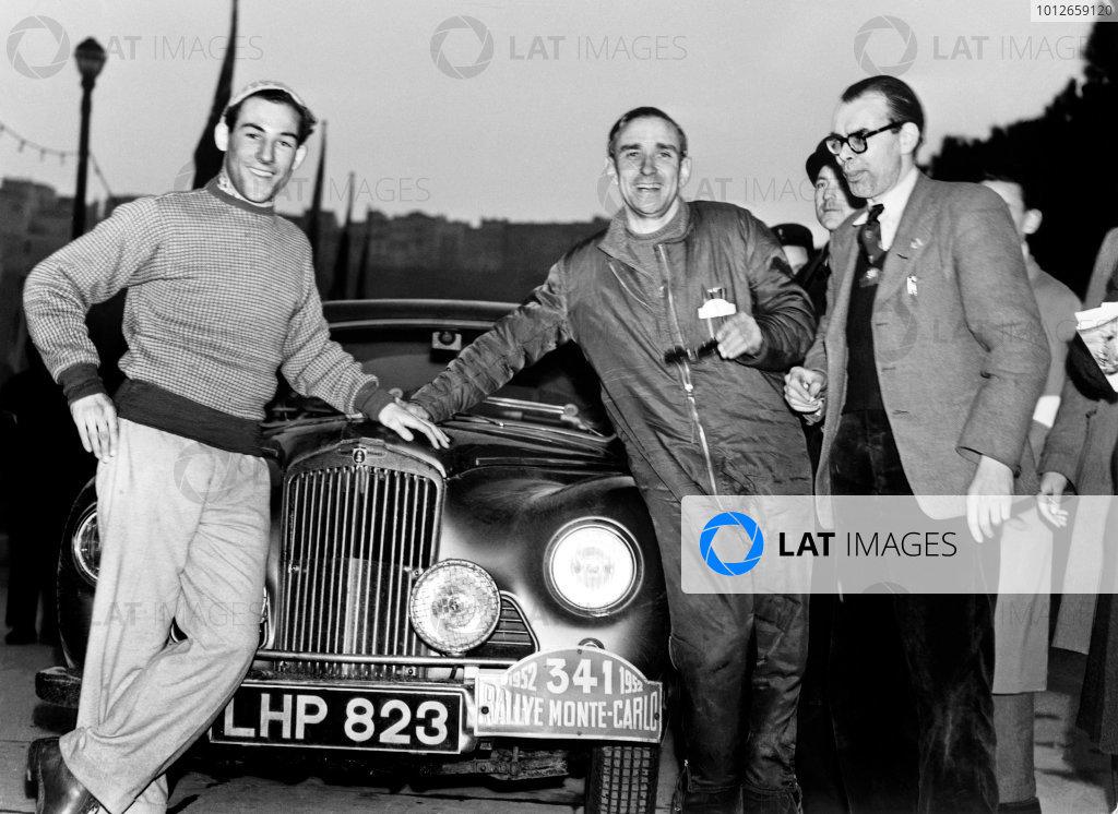 1952 Monte Carlo Rally.