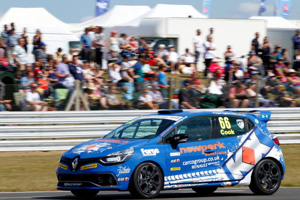 2014 Renault Clio Cup, Snetterton, Norfolk. 1st - 3rd August 2014. Josh Cook (GBR) SV Racing Renault Clio Cup. World Copyright: Ebrey / LAT Photographic.