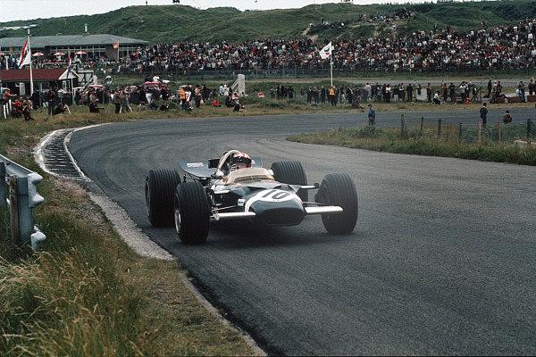 Zandvoort, Holland.19-21 June 1969.Jo Siffert (Lotus 49B Ford) 2nd position.Ref-35mm 69 HOL 20.World Copyright - LAT Photographic