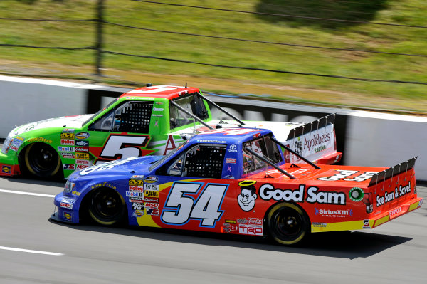 2-3 August, 2013, Long Pond, Pennsylvania USA Darrell Wallace Jr and Tim George Jr ©2013, Nigel Kinrade LAT Photo USA