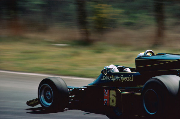 Zolder, Belgium. 14th - 16th May 1976. Gunnar Nilsson (Lotus 77-Ford), retired, action.  World Copyright: LAT Photographic.  Ref: 76 BEL 36.