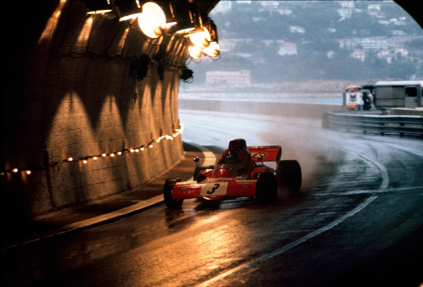 Monte Carlo, Monaco. 11-14th May 1972.  Ronnie Peterson (March 721X-Ford Cosworth), 11th position. Ref: 72MON75. World Copyright: LAT Photographic