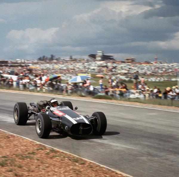 Kyalami, South Africa.31/12-2/1 1967.Jochen Rindt (Cooper T81 Maserati).  Ref-2509.World Copyright - LAT Photographic
