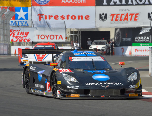 11-12 April, 2014, Long Beach, California USA #10, Chevrolet, Corvette DP, P, Ricky Taylor, Jordan Taylor ©2014, Dan R. Boyd Lat Photo USA