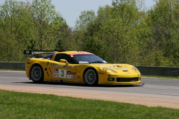 Ron Fellows (CDN) Corvette Racing Chevrolet Corvette C6.R.American Le Mans Series, Rd2, Road Atlanta, USA, 17 April 2005.DIGITAL IMAGE