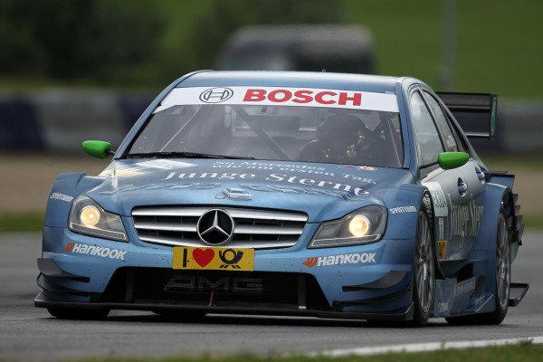 Christian Vietoris (GER), Junge Sterne AMG Mercedes.DTM, Rd3, Red Bull Ring, Spielberg, Austria. 3-5 June 2011.
