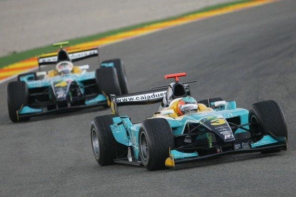 Alexandre Negrao (BRA) Minardi Piquet Sports  GP2 Series, Rd 11, Race One, Valencia, Spain, Saturday 29 September 2007.