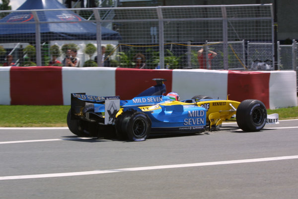 2003 Canadian Grand Prix - Sunday race, Montreal, Canada.