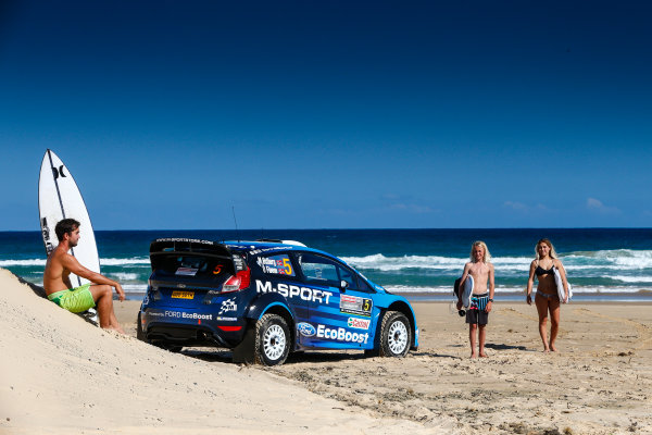 2016 FIA World Rally Championship, Round 14, Rally Australia, November 17-20, 2016, Ford, atmosphere Worldwide Copyright: McKlein/LAT