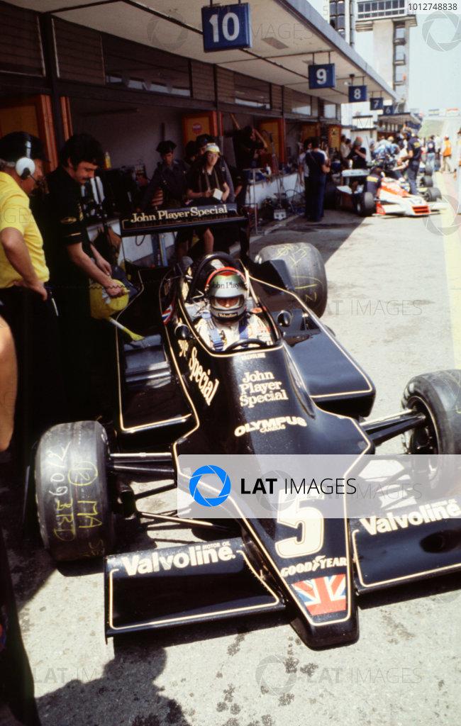 1978 Spanish Grand Prix Jarama, Spain