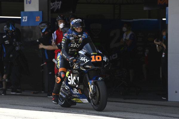 Luca Marini, Esponsorama Racing.
