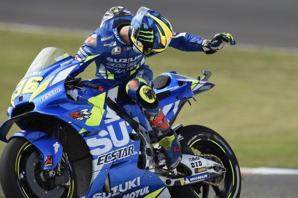 Joan Mir, Team Suzuki MotoGP, Retiring.