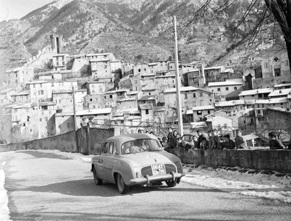 Jacques Feret / Guy Monraisse, Renault Duaphine.