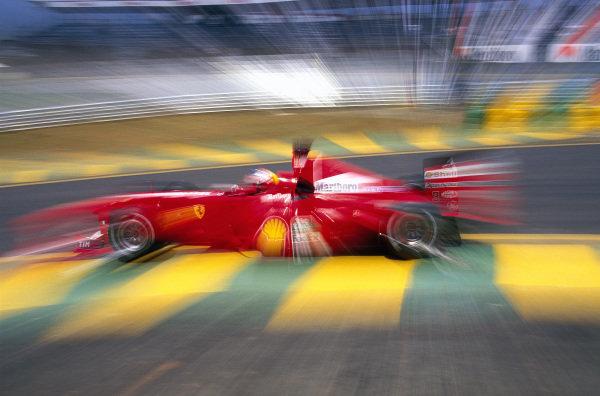 Michael Schumacher, Ferrari F1-2000.
