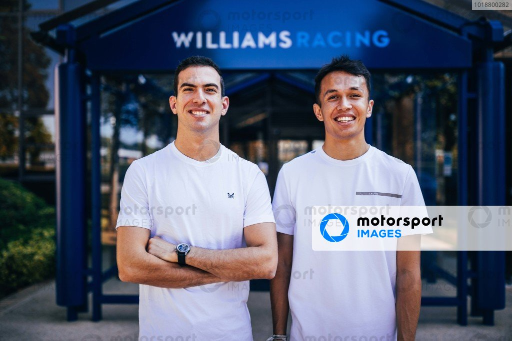 Alex Albon Signs To Race For Williams In 2022