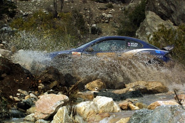2003 FIA World Rally Championship. Kemer, Turkey. Rd3.26/2-2/3 2003.Guy Wilks/Phil Pugh (Ford Puma).World Copyright: McKlein/LAT Photographic