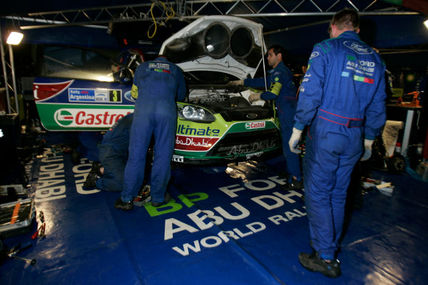 Round 05Rally Argentina 24- 27 of April 2009Ford, Service, WRCWorldwide Copyright: McKlein/LAT