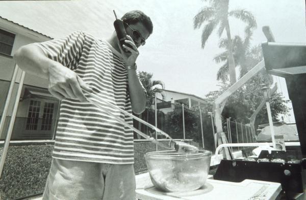 Gil De Ferran at home in Miami, U.S.A.Drivers at Home