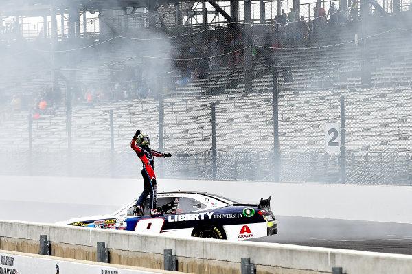 NASCAR XFINITY Series Lilly Diabetes 250 Indianapolis Motor Speedway, Indianapolis, IN USA Saturday 22 July 2017 William Byron, Liberty University Chevrolet Camaro wins World Copyright: Rusty Jarrett LAT Images